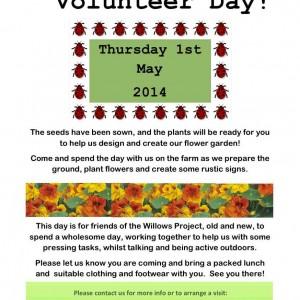 May volunteer day